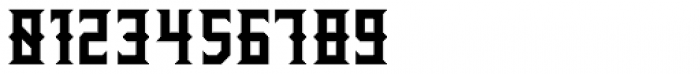 Wrought Bold Font OTHER CHARS