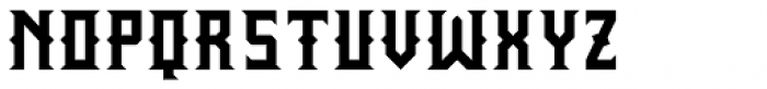 Wrought Bold Font UPPERCASE