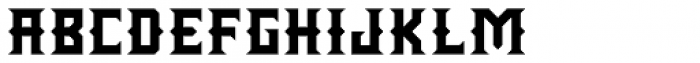 Wrought Bold Font LOWERCASE