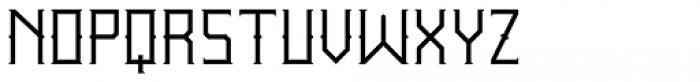 Wrought Light Font UPPERCASE