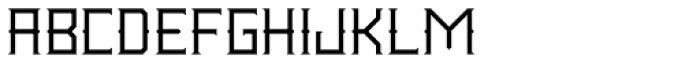 Wrought Light Font LOWERCASE