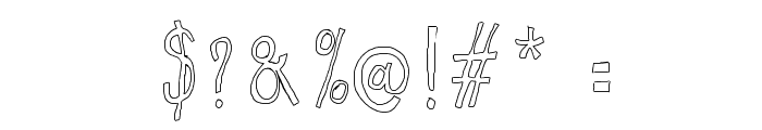 WS Egg Font OTHER CHARS