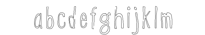 WS Egg Font LOWERCASE