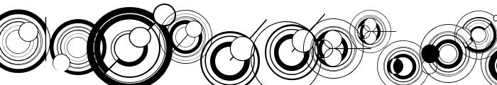 WS Simple Gallifreyan Font UPPERCASE