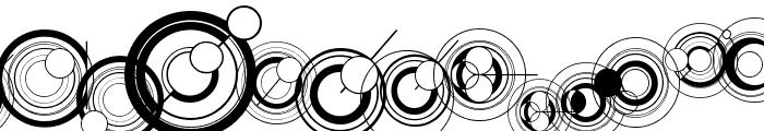 WS Simple Gallifreyan Font LOWERCASE