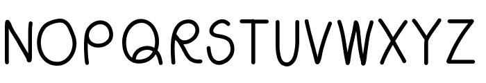 WSCallMe Font UPPERCASE