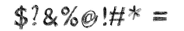 WSDoraSmooch Font OTHER CHARS