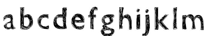 WSDoraSmooch Font LOWERCASE
