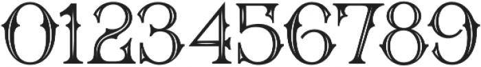 WT Bradford Inline otf (400) Font OTHER CHARS
