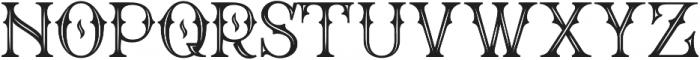 WT Bradford Inline otf (400) Font UPPERCASE