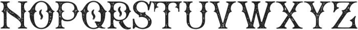 WT Bradford Press otf (400) Font UPPERCASE