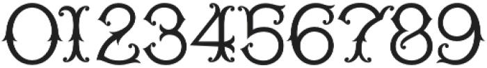 WT Kingsbury Fancy otf (400) Font OTHER CHARS