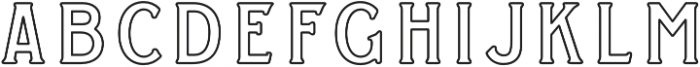 WT Kingsbury Stroke otf (400) Font LOWERCASE