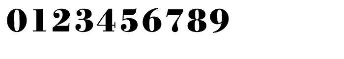 WTC Our Bodoni Bold Font OTHER CHARS
