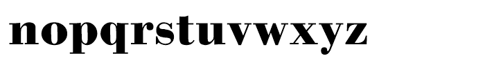 WTC Our Bodoni Bold Font LOWERCASE