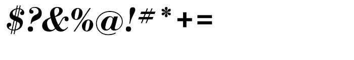 WTC Our Bodoni Medium Italic Font OTHER CHARS