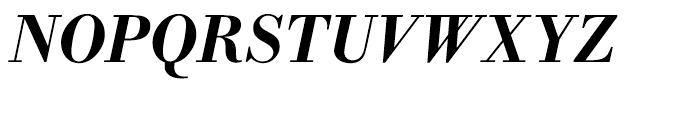 WTC Our Bodoni Medium Italic Font UPPERCASE