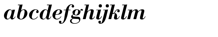 WTC Our Bodoni Medium Italic Font LOWERCASE