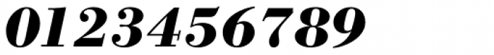 WTC Our Bodoni Bold Italic Font OTHER CHARS
