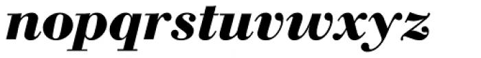 WTC Our Bodoni Bold Italic Font LOWERCASE