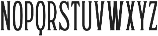 WUB - Northville 01 Thin otf (100) Font LOWERCASE