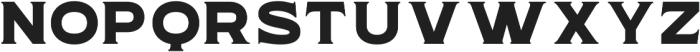 WUB - Northville 01 ttf (400) Font UPPERCASE
