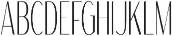 WUB - Northville 04 Light otf (300) Font UPPERCASE