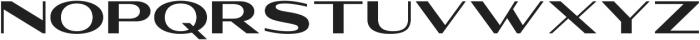 WUB - Northville 04 ttf (400) Font LOWERCASE