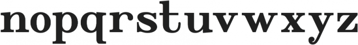 WUB - Northville 06 otf (400) Font LOWERCASE