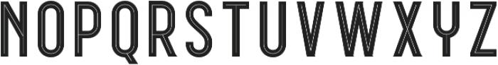 WUB - Northville 08 Inline otf (400) Font UPPERCASE