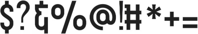 WUB - Northville 08 otf (400) Font OTHER CHARS