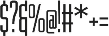 WUB - Northville 09 Light otf (300) Font OTHER CHARS