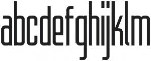 WUB - Northville 09 Light otf (300) Font LOWERCASE