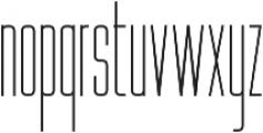 WUB - Northville 09 ttf (400) Font LOWERCASE