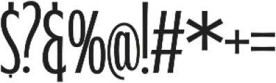 WUB - Northville 10 Light otf (300) Font OTHER CHARS