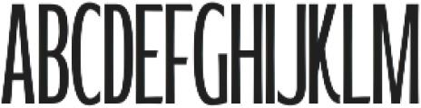 WUB - Northville 10 Light otf (300) Font UPPERCASE