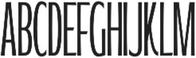 WUB - Northville 10 UltraLight otf (300) Font UPPERCASE