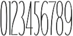 WUB - Northville 10 ttf (400) Font OTHER CHARS