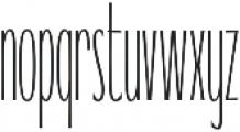 WUB - Northville 10 ttf (400) Font LOWERCASE