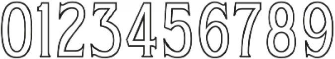 WUB - Northville 11 Light otf (300) Font OTHER CHARS