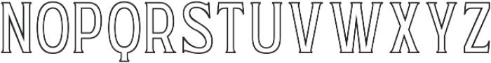 WUB - Northville 11 Light otf (300) Font UPPERCASE