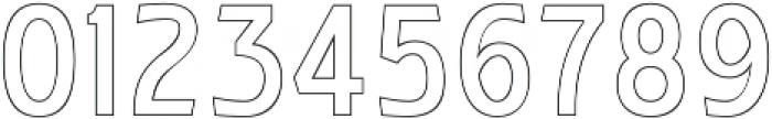 WUB - Northville 12 otf (400) Font OTHER CHARS