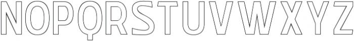 WUB - Northville 12 otf (400) Font UPPERCASE