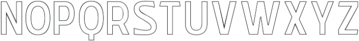 WUB - Northville 12 otf (400) Font LOWERCASE