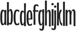 WUB - Northville 17 Light otf (300) Font LOWERCASE