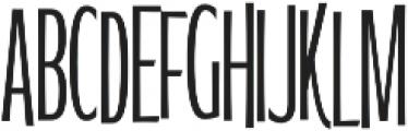 WUB - Northville 17 UltraLight otf (300) Font UPPERCASE