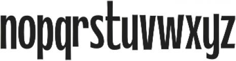 WUB - Northville 17 otf (400) Font LOWERCASE