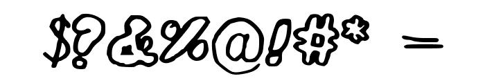 WubDub Font OTHER CHARS