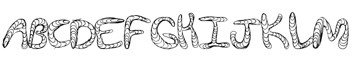 WurmFun Font UPPERCASE