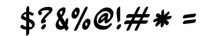 Wurmics Bravo Font OTHER CHARS